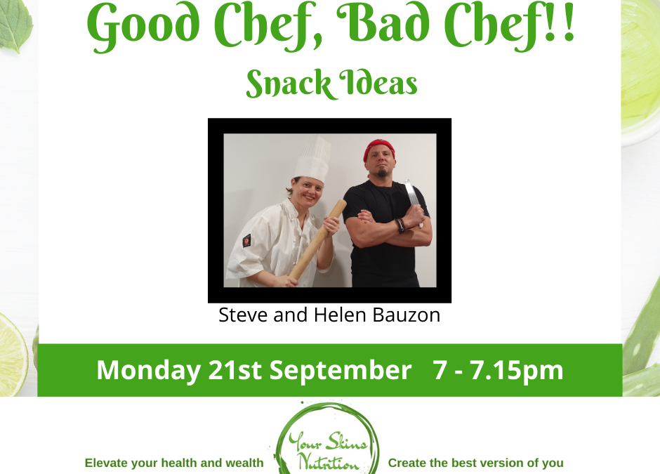 Good Chef Band Chef – snack ideas