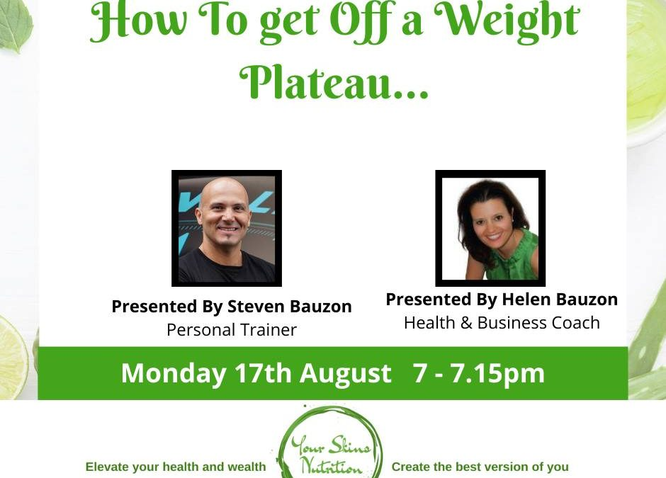 How To Get Off A Weight Loss Plateau