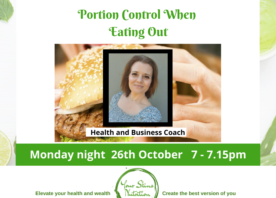Portion Control When Eating Out